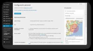 Activar el geoposicionamiento en WordPress